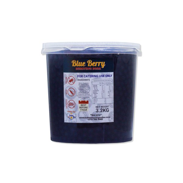 Blueberry Bursting Boba Bulk