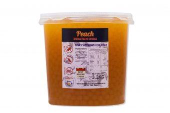 Peach Boba